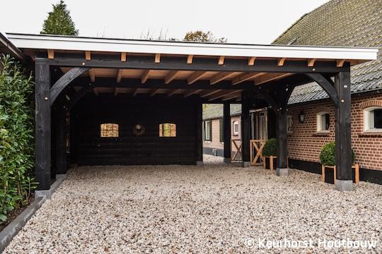 Keurhorst Houtbouw - Carport Stroe